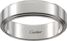 Cartier d'Amour wedding band Platinum