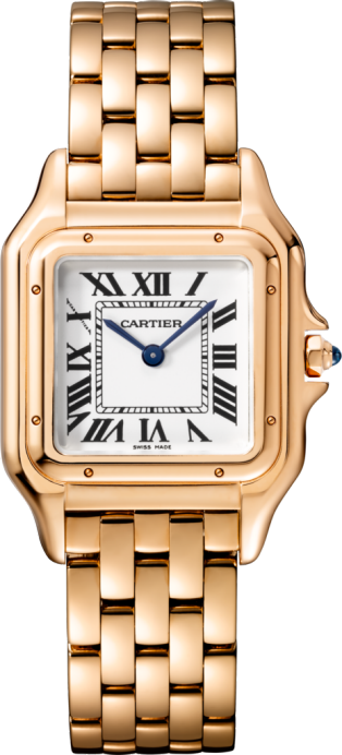 Panthère de Cartier watch Medium model, rose gold