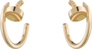 Juste un Clou earrings Yellow gold
