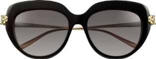 Panthère de Cartier sunglasses Black composite and graduated grey lenses