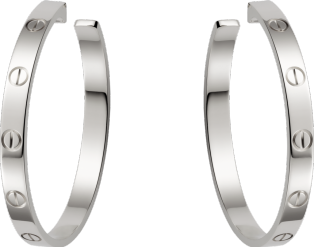 <span class='lovefont'>A </span> earrings White gold