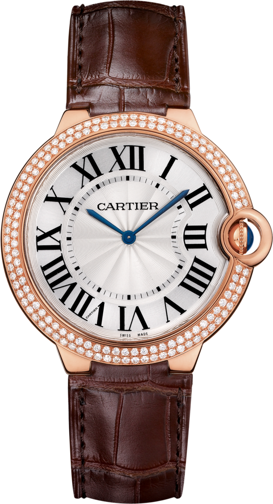 Ballon Bleu de Cartier watch40 mm, 18K pink gold, diamond