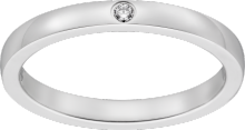Ballerine wedding ring Platinum, diamond